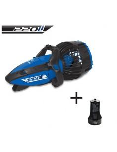 PACK Scooter sous-marin 220Li Yamaha + Batterie supplémentaire