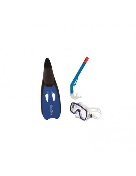 Set Palmes, Masque et Tuba Cancun Bleu 34/35 SALVAS EB1273435B