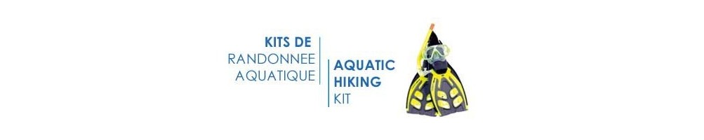 Aquatic hiking kit